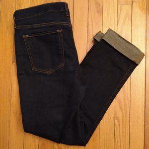Eddie Bauer Curvy Fit Straight Dark Wash Jeans